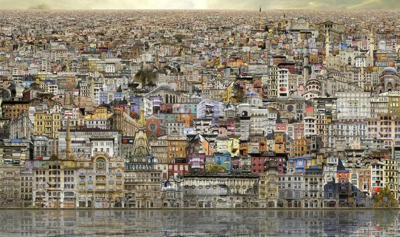 Jean François Rauzier - Istanbul Vedute