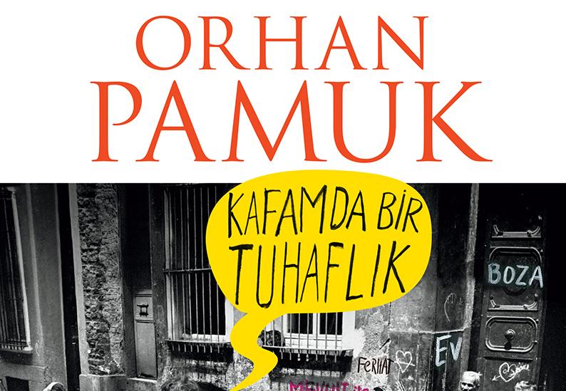 Orhan Pamuk - Kafamda Bir Tuhaflık Kitap Kapağı
