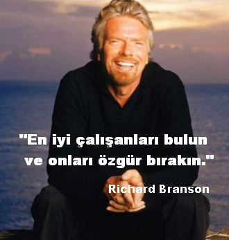 Richard Branson liderlik sözleri