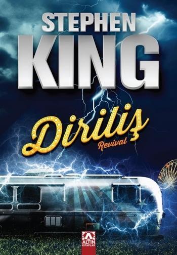 Stephen King romanları - Kitap Kapakları - Diriliş